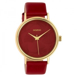 OOZOO C10393 Horloge Timepieces Collection rood 42 mm