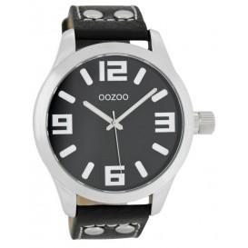 OOZOO Horloge Timepieces Collection 46 mm zwart C1054