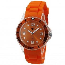 Prisma Summer Time oranje P.2963 horloge