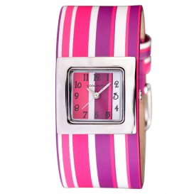 Coolwatch Stripes Pink/Purple CW.149 Kinderhorloge