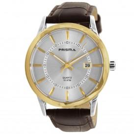Prisma Horloge 1782.346H Heren Edelstaal P.1782 Herenhorloge 1