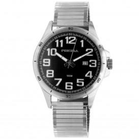 Prisma horloge 1075.54VH Heren Classic Staal Rekband P.1075.54VH Herenhorloge 1