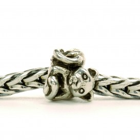 Trollbeads bedel zilver Poesje TAGBE-10055