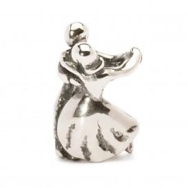 Trollbeads bedel zilver Dansen TAGBE-10015