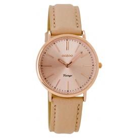 OOZOO Horloge Vintage rosé/roze 32 mm C8821