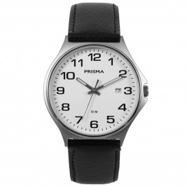 Prisma Horloge P.1685 Heren Edelstaal 5 ATM P.1685 Herenhorloge 1