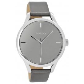 OOZOO Horloge Timepieces silvergrey 40 mm C9143
