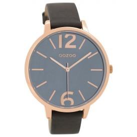 OOZOO Horloge Timepieces elephantgrey 43 mm C9153