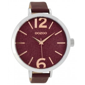 OOZOO Horloge Timepieces bordeaux 48 mm C9193