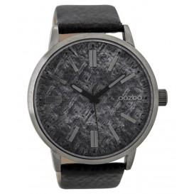 OOZOO Horloge Timepieces Collection 48 mm black C9409