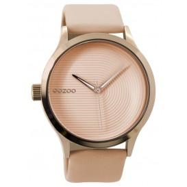 OOZOO Horloge Timepieces Collection 44 mm rosékleurig-zachtroze C9431