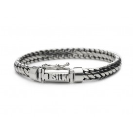 Silk Jewellery Armband zilver 'Shiva' 21 cm 349-21