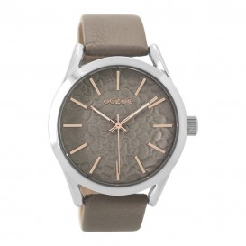 OOZOO Horloge C9473 Timepieces Collection 43 mm taupe