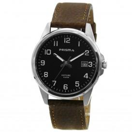 Prisma Horloge 1724.329G Heren Titanium Saffierglas P.1724.329G Herenhorloge 1