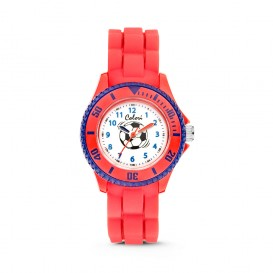 Colori - Kidz - 5-CLK058 - Kinderhorloge - siliconen band - rood - 30 mm