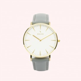 KRAEK Aya | Gold | Grey 36 mm Dameshorloge