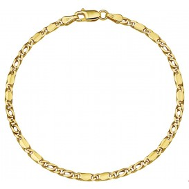 Armband Goud Valkenoog 2,7 mm 18 cm