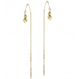 Glow Gouden Oorhangers Gold Collection  208.2040.00