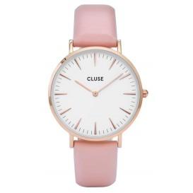 Cluse horloge La Bohéme rosegold-white-pink 38 mm CL18014