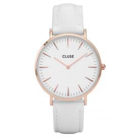 Cluse horloge La Boheme rosegold-white 38 mm CL18042