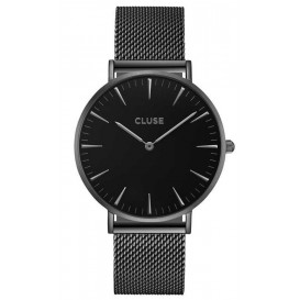 Cluse horloge La Bohéme Mesh full black 38 mm CL18111
