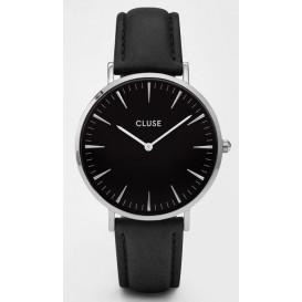 Cluse horloge La Bohéme silver-black-black 38 mm CL18201