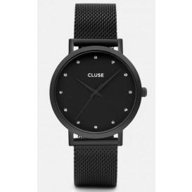 Cluse horloge Pavane Black Stones Mesh CL18304