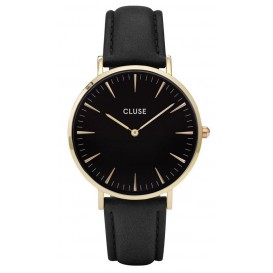 Cluse horloge La Bohéme gold-black-black 38 mm CL18401