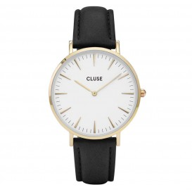 Cluse horloge La Bohéme gold-white-black 38 mm CL18406