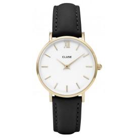 Cluse horloge Minuit gold-white-black 33 mm CL30019