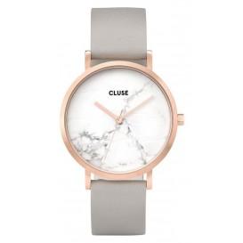 Cluse horloge La Roche rosegold-white marble-grey 38 mm CL40005