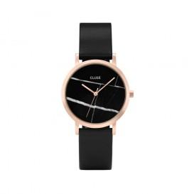 Cluse horloge La Roche Petite rosegold-black marble-black 33 mm CL40104