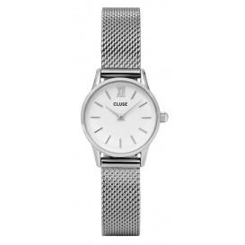Cluse horloge La Vedette Mesh silver-white 24 mm CL50005