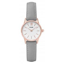 Cluse horloge La Vedette rosegold-white-grey 24 mm CL50009