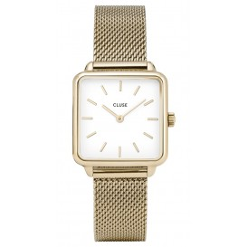 Cluse horloge La Garconne 'Gold' goudkleurig 29 mm CL60002