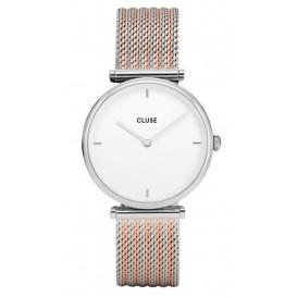 Cluse horloge Triomphe Silver Bicolor CL61001