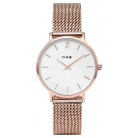 Cluse horloge Gift Box Minuit Heart 'Rose' Mesh CLG013