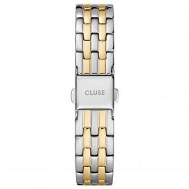 CLUSE CS1401101077 Horlogeband staal zilver- en goudkleurig 16 mm