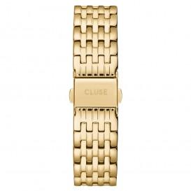 LUSE CS1401101079 Horlogeband staal goudkleurig 18 mm