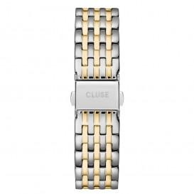 CLUSE CS1401101081 Horlogeband staal zilver- en goudkleurig 18 mm
