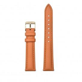CLUSE CS1408101083 Horlogeband leder oranje-goudkleurig 16 mm