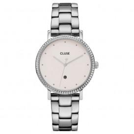 CLUSE CW0101209008 Horloge Le Couronnement 3-Link Winterwhite Silver 33 mm