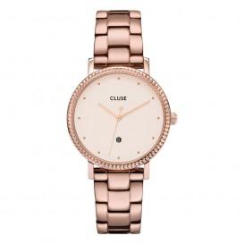 CLUSE CW0101209009 Horloge Le Couronnement 3-Link Winterwhite Rosegold 33 mm