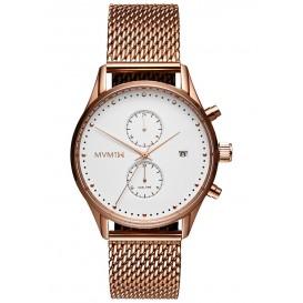 MVMT D-MV01-RGM Horloge Voyager White Rose Mesh 42 mm