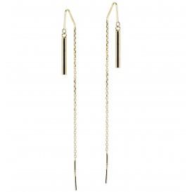 Glow Gouden Oorhangers Gold Collection - Ronde Buis  208.2039.00