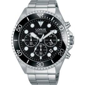 Lorus Herenhorloge Chronograaf Zilverkleurig RT319GX9