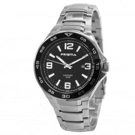Prisma horloge 33C731603 Heren Classic Edelstaal Saffierglas P.1084 Herenhorloge 1