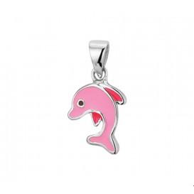 TFT Hanger Zilver Dolfijn