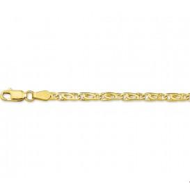 Armband Goud Valkenoog 3,3 mm 18 cm