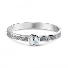Mi Moneda BRA-PIC-36-19 Armband Steelgrey Picante Swarovski Crystals